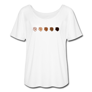 U Fist Women's Flowy T-Shirt - Fitted Clothing Company