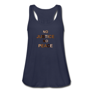 U NJNP Women's Flowy Tank Top by Bella - navy