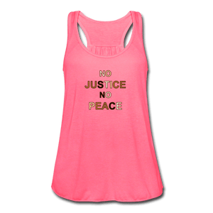 U NJNP Women's Flowy Tank Top by Bella - neon pink