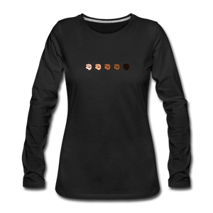 U Fist Women's Premium Long Sleeve T-Shirt - black