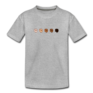 U Fist Kids' Premium T-Shirt - heather gray