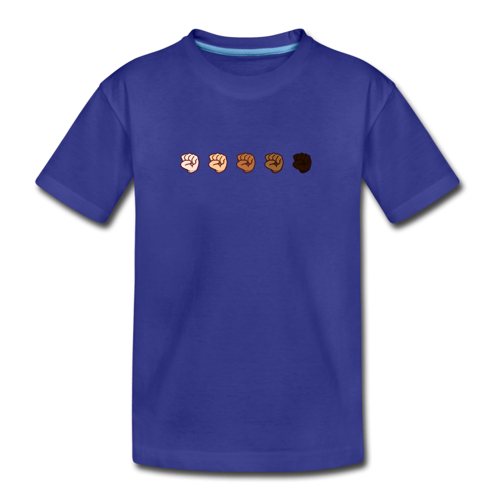 U Fist Kids' Premium T-Shirt - royal blue