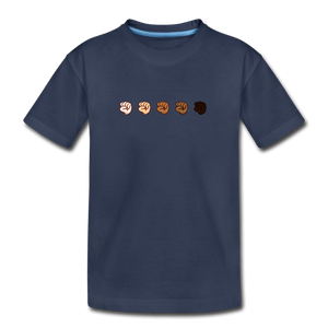 U Fist Kids' Premium T-Shirt - navy