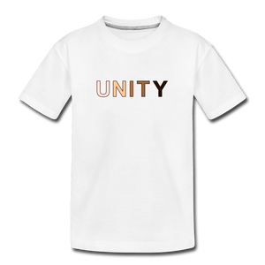 Unity Kids' Premium T-Shirt - white
