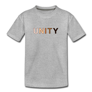 Unity Kids' Premium T-Shirt - heather gray