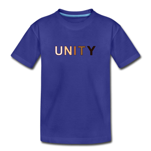 Unity Kids' Premium T-Shirt - royal blue