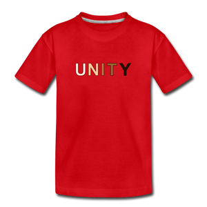 Unity Kids' Premium T-Shirt - red
