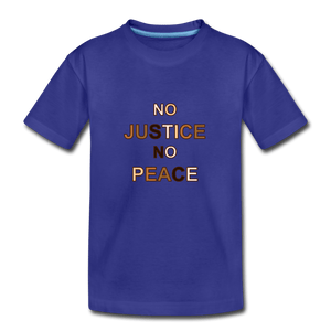 U NJNP Kids' Premium T-Shirt - royal blue