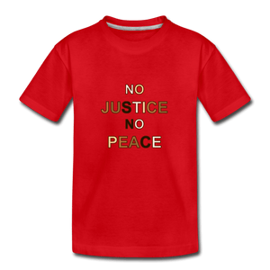 U NJNP Kids' Premium T-Shirt - red