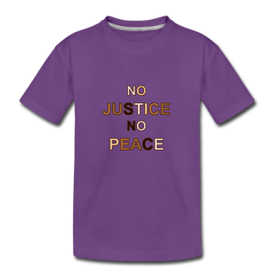 U NJNP Kids' Premium T-Shirt - purple