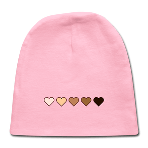 U Hearts Baby Cap - light pink