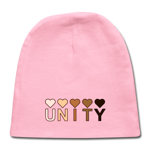 Unity Hearts Baby Cap - light pink
