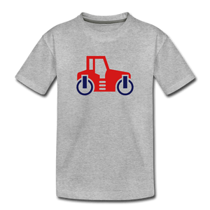 Red Car Toddler Premium T-Shirt - heather gray