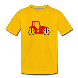 Red Car Toddler Premium T-Shirt - sun yellow