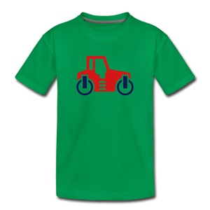 Red Car Toddler Premium T-Shirt - kelly green