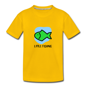 Fishing Toddler Premium T-Shirt - sun yellow