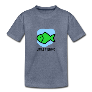 Fishing Toddler Premium T-Shirt - heather blue