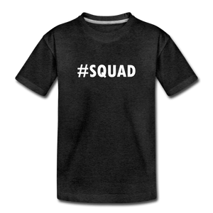 Squad Toddler Premium T-Shirt - charcoal gray