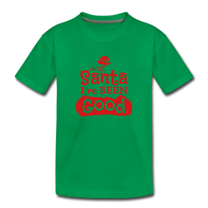 Dear Santa Toddler Premium T-Shirt - kelly green