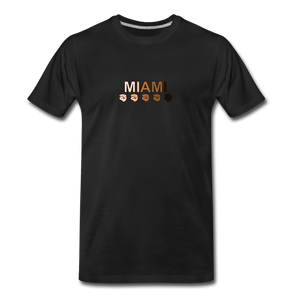 Miami Fist Men's Premium T-Shirt - black