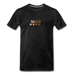 Miami Fist Men's Premium T-Shirt - charcoal gray