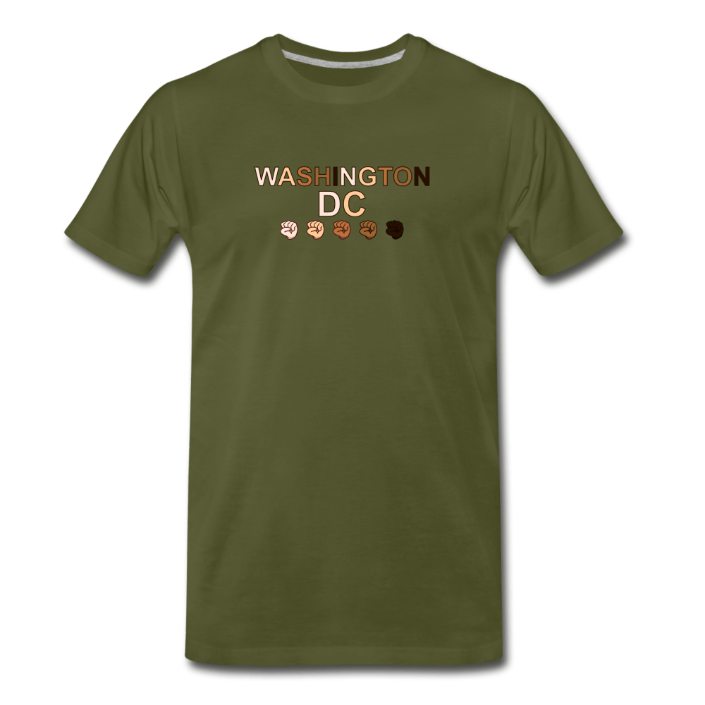 DC FIst Men's Premium T-Shirt - olive green