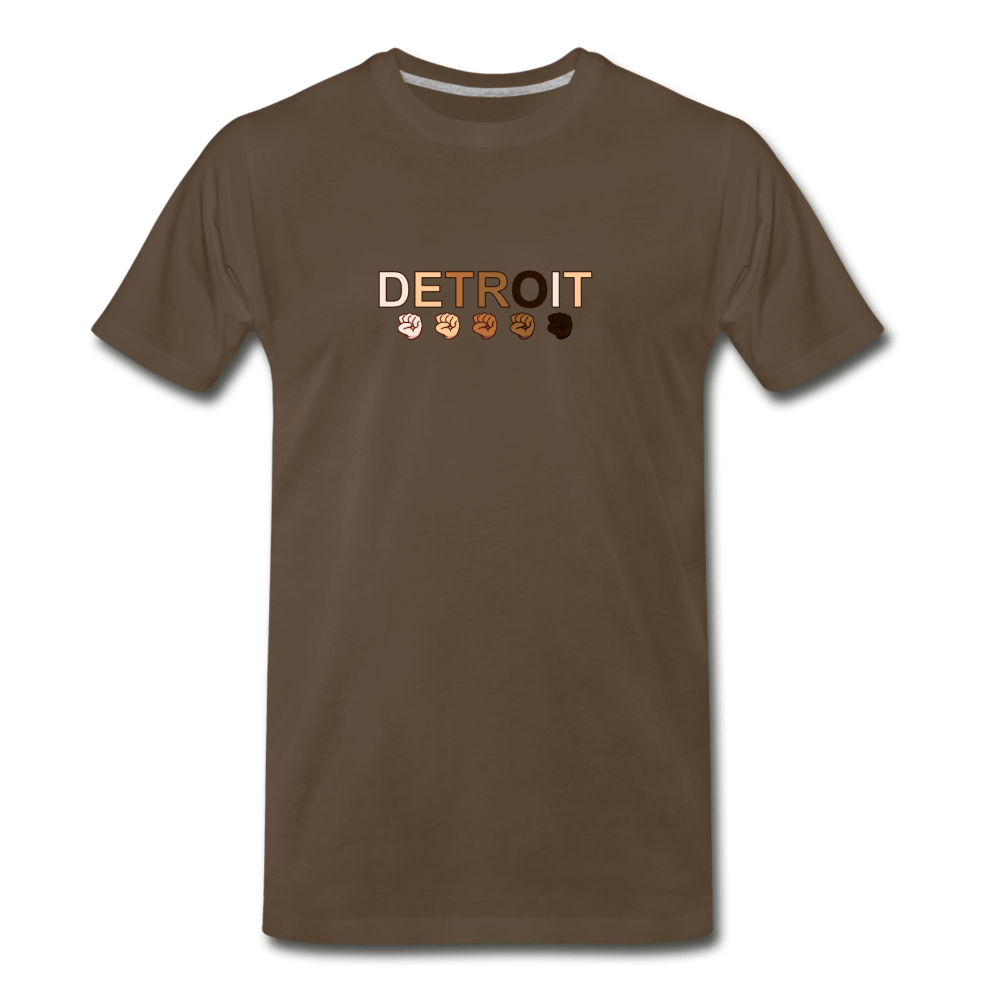 Detroit Men's Premium T-Shirt - heather gray