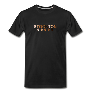 Stockton Fist Men's Premium T-Shirt - black