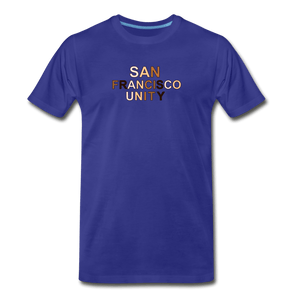 SF Unity Men's Premium T-Shirt - royal blue