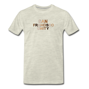 SF Unity Men's Premium T-Shirt - heather oatmeal