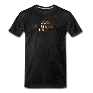LA Unity Men's Premium T-Shirt - charcoal gray