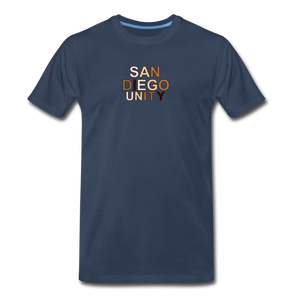 SD Unity Men's Premium T-Shirt - navy