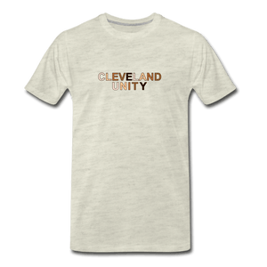Cleveland Unity Men's Premium T-Shirt - heather oatmeal