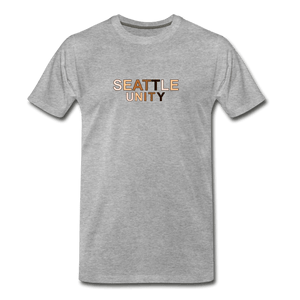 Seattle Unity Men's Premium T-Shirt - heather gray