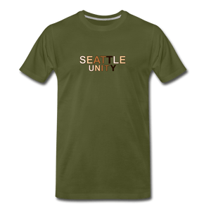 Seattle Unity Men's Premium T-Shirt - olive green