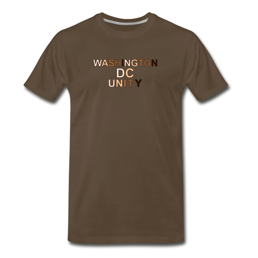 DC Unity Men's Premium T-Shirt - heather oatmeal