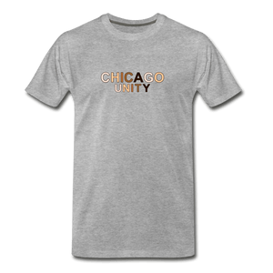 Chi Unity Men's Premium T-Shirt - heather gray
