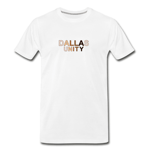 Dallas Unity Men's Premium T-Shirt - white
