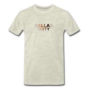 Dallas Unity Men's Premium T-Shirt - heather oatmeal
