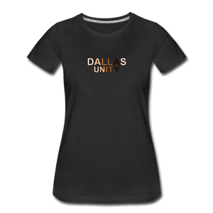 Dallas Unity Women's Premium T-Shirt - black