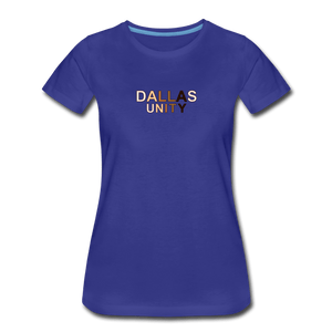 Dallas Unity Women's Premium T-Shirt - royal blue