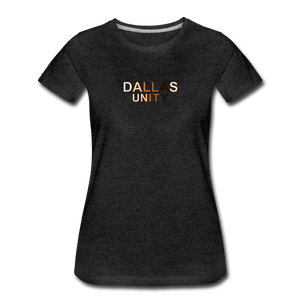 Dallas Unity Women's Premium T-Shirt - charcoal gray