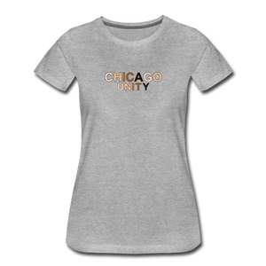 Chi Unity Women's Premium T-Shirt - heather gray
