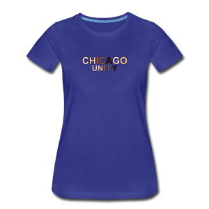 Chi Unity Women's Premium T-Shirt - royal blue