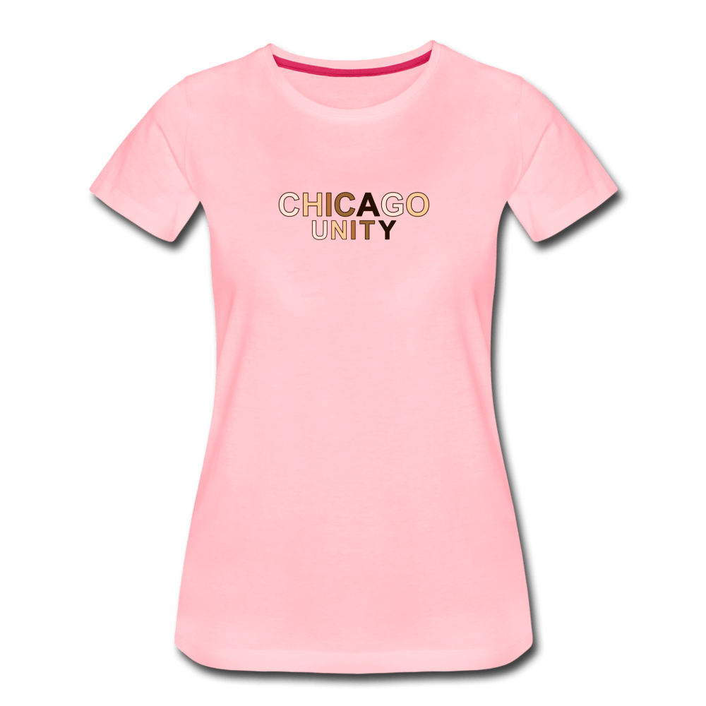Chi Unity Women's Premium T-Shirt - heather oatmeal