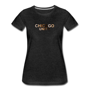 Chi Unity Women's Premium T-Shirt - charcoal gray