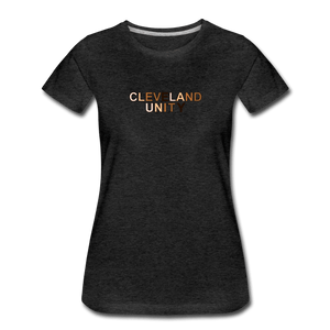 Cleveland Unity Women's Premium T-Shirt - charcoal gray