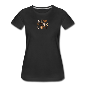 NYC Unity Women's Premium T-Shirt - black