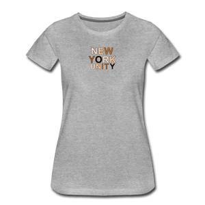 NYC Unity Women's Premium T-Shirt - heather gray