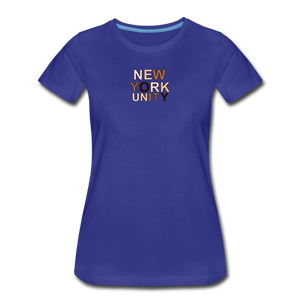 NYC Unity Women's Premium T-Shirt - royal blue